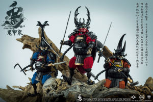 *PREORDER* Samurai Beetle: Action Figures 1/12 complete set by Crowtoys