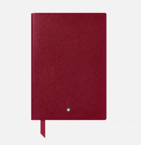 Blocco note Montblanc #146, rosso carminio