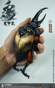 *PREORDER* Samurai Beetle: Action Figures 1/12 CT002 Brave Airo by Crowtoys
