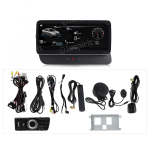 ANDROID navigatore per Audi Q5 2009-2017 10.25 pollici 4GB RAM 64GB ROM Octa-Core Car Play Android Auto Bluetooth GPS WI-FI