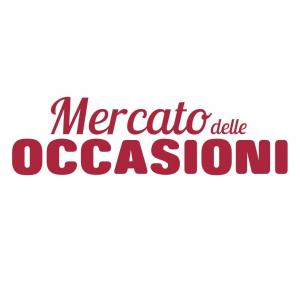 Campanella In Ceramica Decoro Rosso Fiore Rosa Con Uccellino 13 Cm