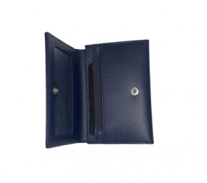 Porta biglietti da visita Montblanc con porta  banconote e tasca a vista