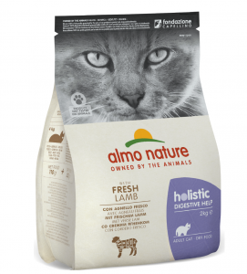 Almo Nature - Holistic Cat Functional - Digestive Help - Agnello - 2 kg
