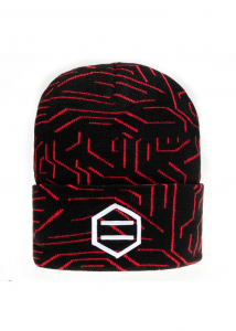 Cappello Dolly Noire Red Circuit Beanie