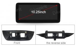 ANDROID navigatore per Mercedes Classe B W246 2012-2015 NTG 4.5 10.25 pollici 4GB RAM 64GB ROM Octa-Core CarPlay Android Auto Bluetooth GPS WI-FI