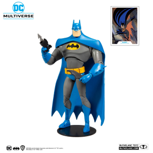 DC Multiverse: The Animated Series Action Figure - Batman Variant Blue/Gray by McFarlane Toys