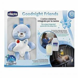 Monitor e pannello Goodnight Friends bimbo azzurro Chicco