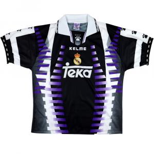 1997-98 Real Madrid Maglia Terza L *Nuova