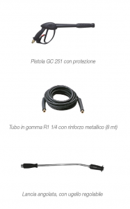 IDROPULITRICE KT1750 GOLD CLASSIC - COMET 230V 150 bar