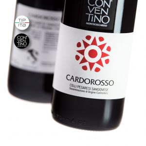 Cardorosso - DOC Sangiovese Colli Pesaresi 2016 - Vino Rosso - 75cl