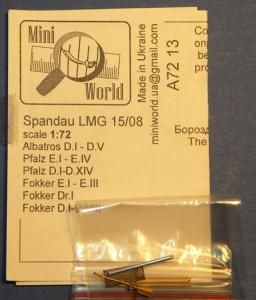 Spandau LMG.15/08 machine gun