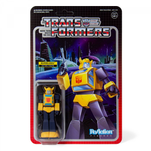 ReAction Figure: Transformers - Bumblebee by Super 7