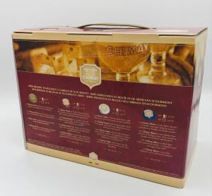 Birra Chimay - 4 Bottiglie Mix CL.33 + 1 Bicchiere - confezione regalo