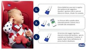 Chicco dispositivo anti abbandono BebèCare easy-tech