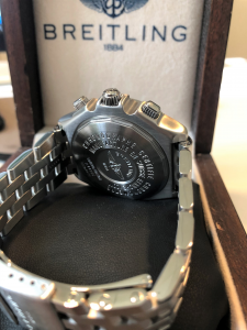 Orologio secondo polso Breitling Crosswind Limited Edition