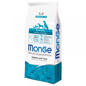 Monge - Natural Superpremium - All Breeds - Hypoallergenic - 12 kg