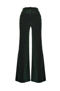 Pantaloni lunghi in velluto Pinko.