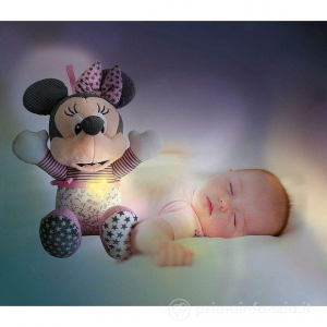 Peluche interattivo Minnie Goodnight Plush Clementoni