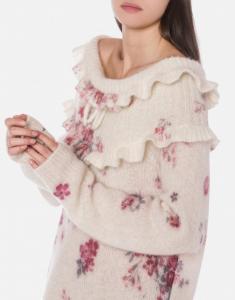 Minidress in maglia con ruches philosophy di lorenzo serafini