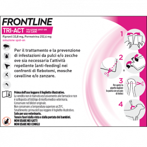 FRONTLINE TRI-ACT SPOT-ON 5-10 KG. 3x1 ML.