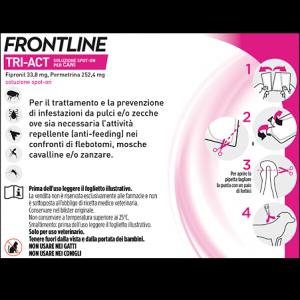 FRONTLINE TRI-ACT SPOT-ON 5-10 KG. 3x1 ML. SCADENZA 28-02-2021