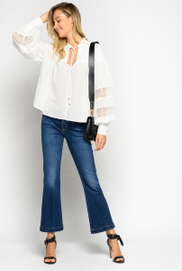 Jeans croppped flare-fit Pinko