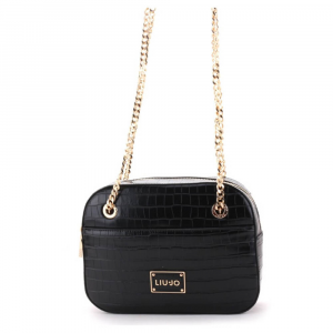 Tracollina M Crossbody color nero LIU JO