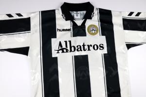 1995-96 Udinese Maglia #20 Bierhoff Home L (Top)