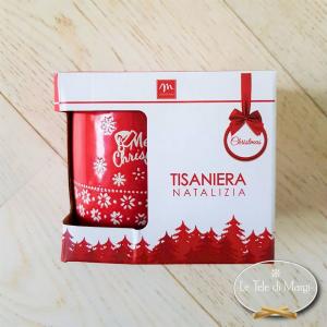 Tisaniera Merry Christmas Rossa