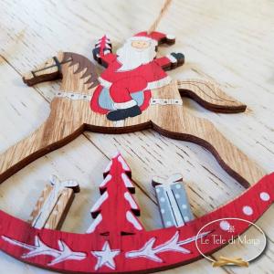 Ghirlandina Babbo Natale