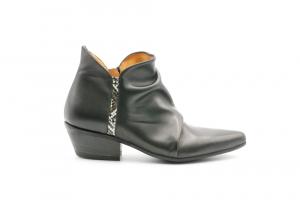 Gio+ Calzatura Donna Scarpa Tacco Guantino/Nero G2100
