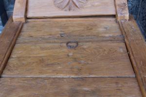 Day bed/cassapanca in legno di teak indonesiano