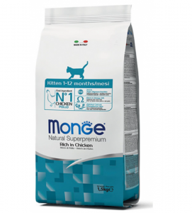 Monge Cat - Natural Superpremium - Kitten - 1,5 kg