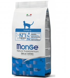 Monge Cat - Natural Superpremium - Urinary - 1,5 kg