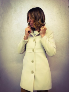 Caldo cappotto panna  Blue Joint