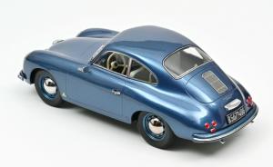 Porsche 356 Coupé 1952 Blue 1/18