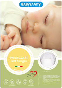 MORBIDO PARACOLPI Lettino Culla Neonato Bambino Protezione Avvolgente Cotone - MADE IN ITALY- Lati Lunghi Bianco related image