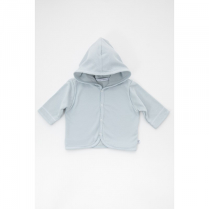 Cardigan con cappuccio 193 Bamboom Light Blue 3 mesi
