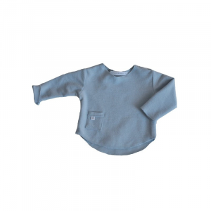 Maglietta maniche lunche 104 Bamboom Light Blue 1 mese