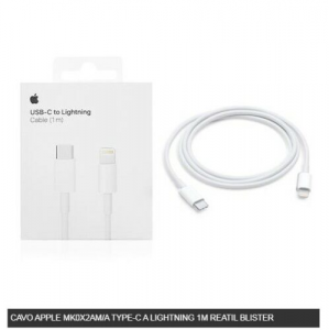 Cavo Dati USB-C a Lightning ORIGINALE Apple per iPhone 11 12 11pro 11proMAX