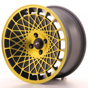 Cerchi in lega  JAPAN RACING  JR14  16''  Width 8   5x100  ET 20  CB 74,1    Black Gold