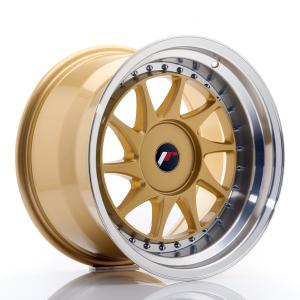 Cerchi in lega  JAPAN RACING  JR26  17''  Width 10   PCD Custom  ET ET Custom  CB 74,1    Gold