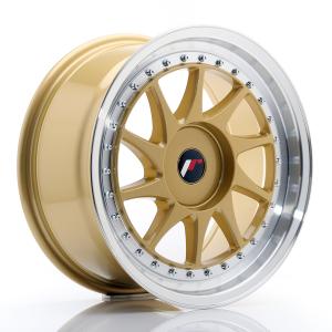 Cerchi in lega  JAPAN RACING  JR26  17''  Width 8   PCD Custom  ET 35  CB 74,1    Gold
