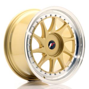 Cerchi in lega  JAPAN RACING  JR26  18''  Width 8,5   PCD Custom  ET ET Custom  CB 74,1    Gold
