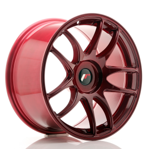 Cerchi in lega  JAPAN RACING  JR29  18''  Width 9,5   PCD Custom  ET ET Custom  CB 72,6    Red
