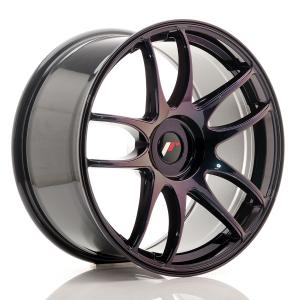 Cerchi in lega  JAPAN RACING  JR29  19''  Width 9,5   PCD Custom  ET ET Custom  CB 74,1    Purple