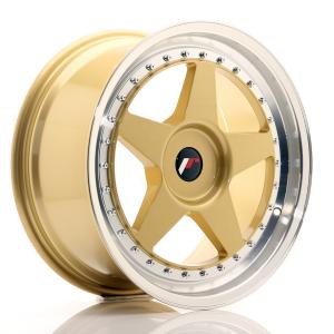 Cerchi in lega  JAPAN RACING  JR6  18''  Width 10,5   PCD Custom  ET ET Custom  CB 74,1    Gold