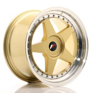 Cerchi in lega  JAPAN RACING  JR6  18''  Width 9,5   PCD Custom  ET ET Custom  CB 74,1    Gold