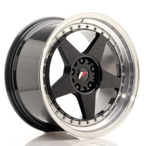 Cerchi in lega  JAPAN RACING  JR6  18''  Width 9,5   PCD Custom  ET ET Custom  CB 74,1    Black