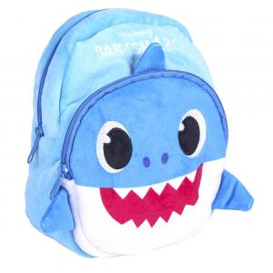 Zaino Baby Shark in peluche dim.22x18x8 cm